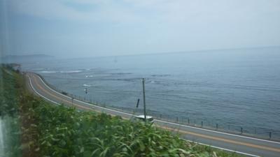函館付近の車窓2