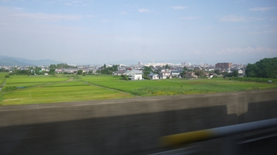 車窓(盛岡付近)