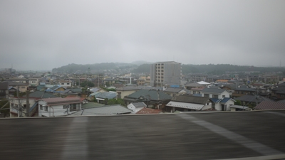 車窓(古川付近)