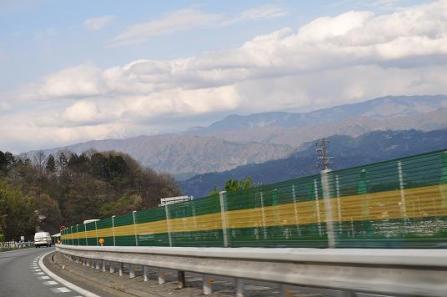 ⑤きれいな山々