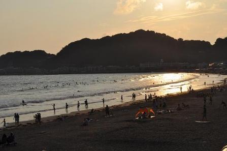 3.由比ヶ浜