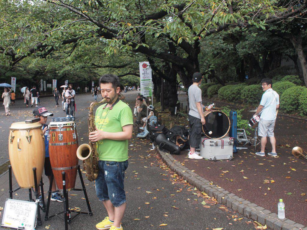 久々のストリート@上野公園