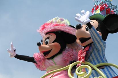 イースターミッキー&ミニー