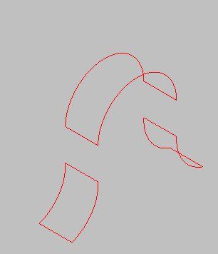 曲面・円弧