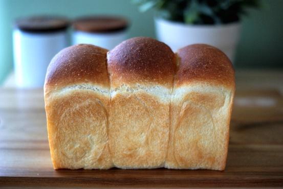 湯捏ね山食パン①