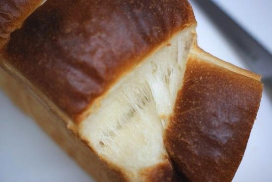 湯捏ね山食パン②