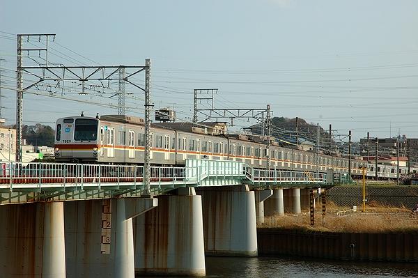 @綱島駅~大倉山駅間