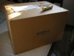箱の大きさにびびった