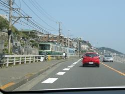 @鎌倉高校前駅付近