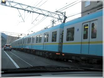 浜大津の電車