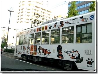 岡山のたま電車
