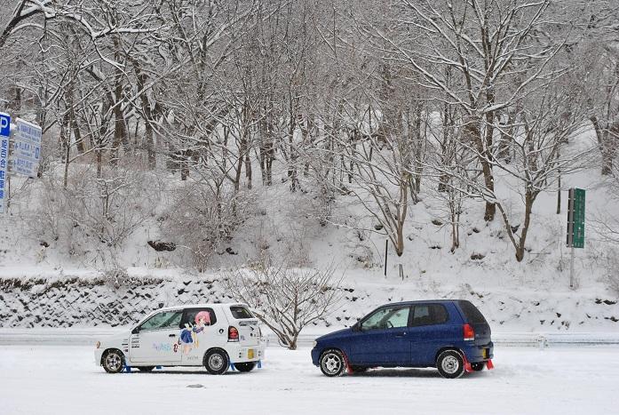 赤城山 雪 3