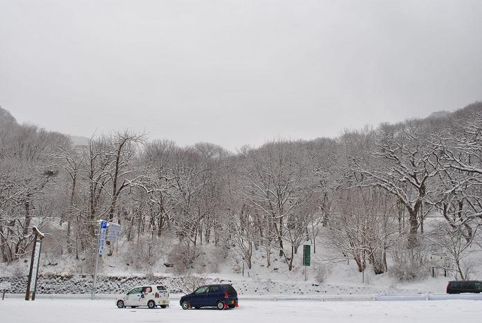 赤城山 雪 2