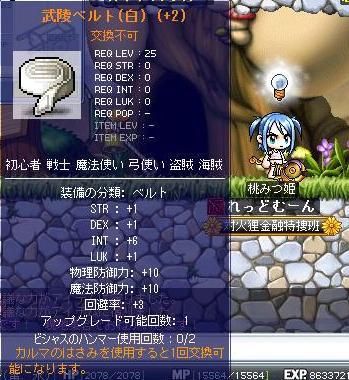 白帯(INT6)