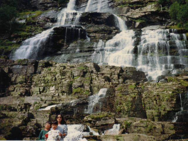 Norway 滝