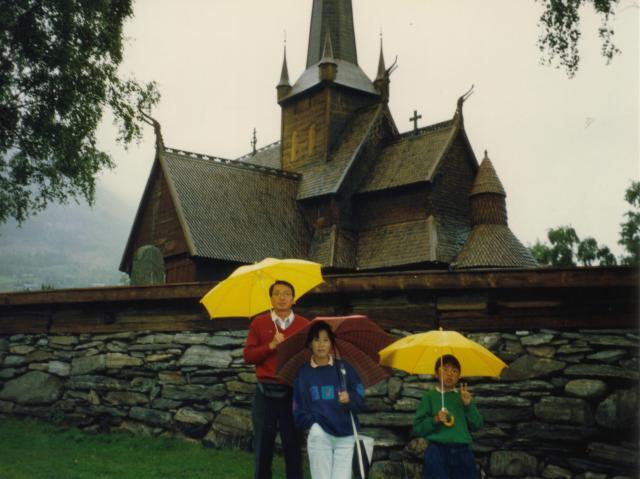 Norway 木の教会