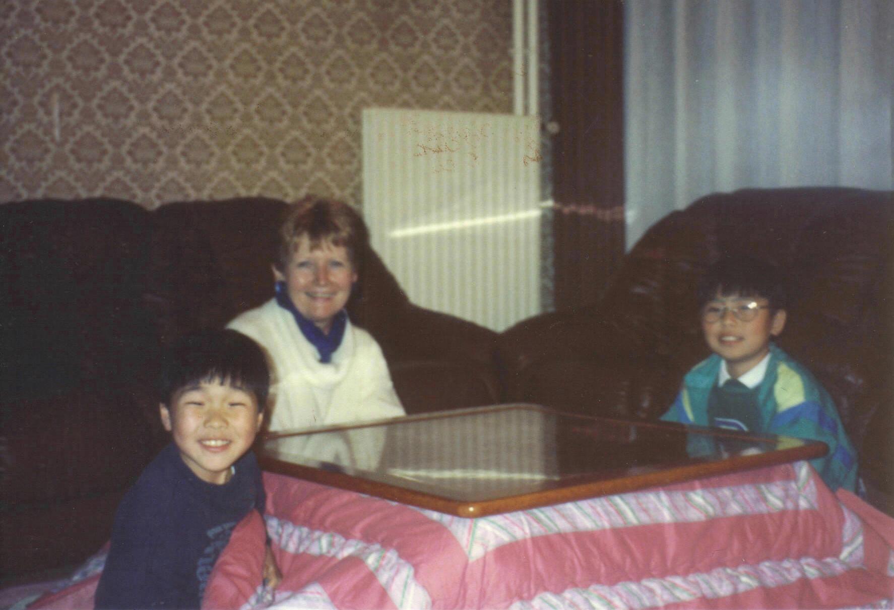 Kotatsu (A Rennes comme au Japon nov 1991)