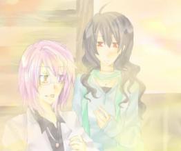 ヴェルさんと紫苑さん。