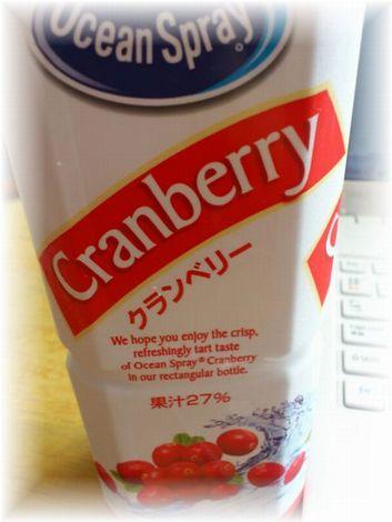 クランベリージュース2