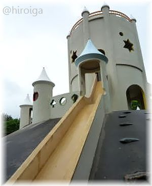 お城のすべり台2