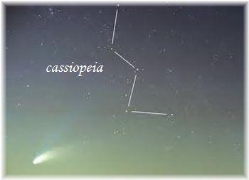 カシオペア星座