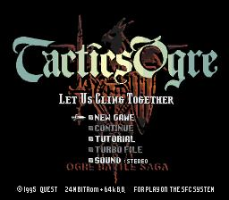 Tactics Ogre - Let Us Cling Together (J) (V1.2).0