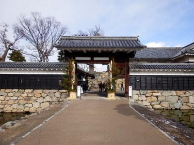 松本城開門式 (2)