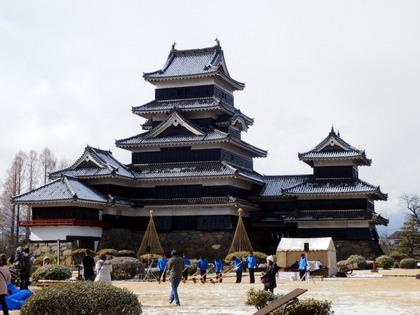 松本城開門式 (33)