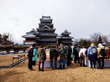 松本城開門式 (35)