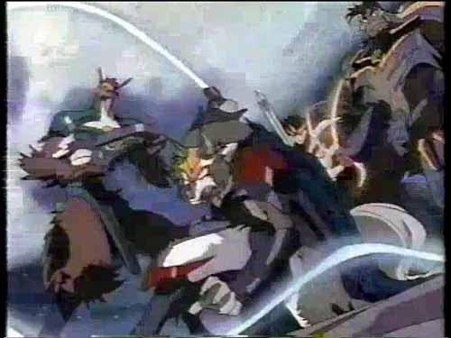 獣戦士ガルキーバ2