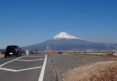 冬の美しい富士-1