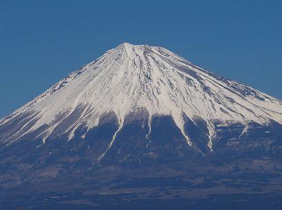 冬の美しい富士-3