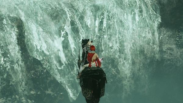 11月14日ハスラの滝の下