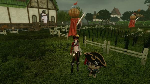 11月19日海賊アバとペット