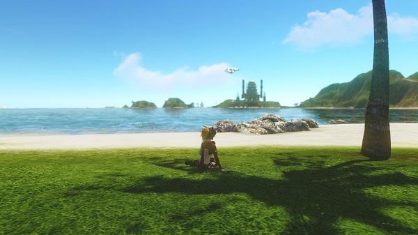 12月6日蜃気楼の島