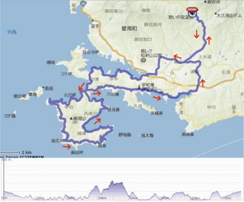 75km地図