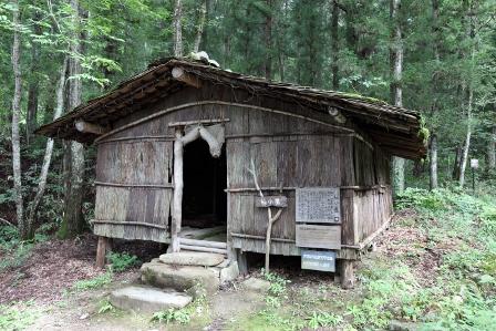 飛騨の里15杣小屋