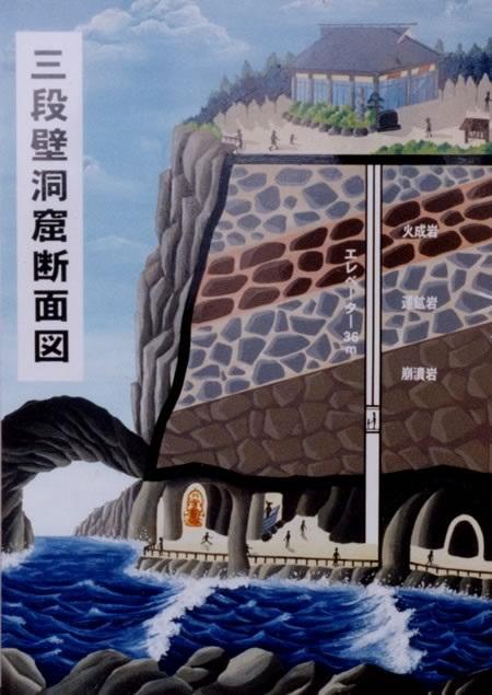 三段壁洞窟33