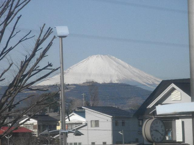 富士山20130130