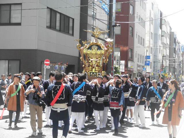 神田明神お祭りの神輿