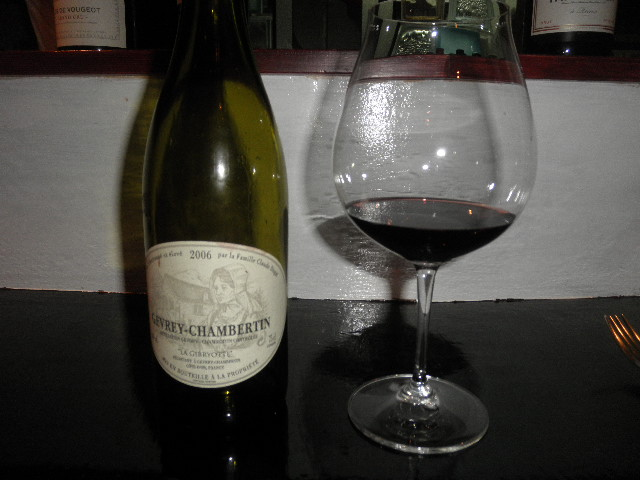 LA GIBRYOTTE GEVREY-CHAMBERTIN 2006 -1