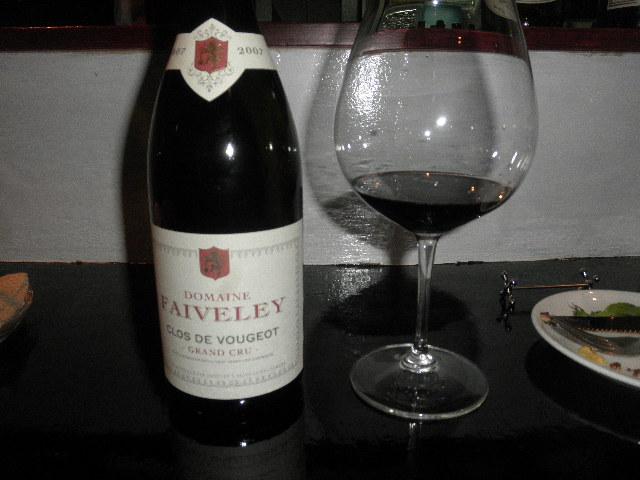 クロ・ド・ヴージョ 2007