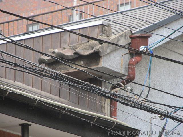 屋根の先の屋根