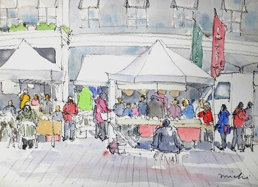 ヘルシンキマーケット広場