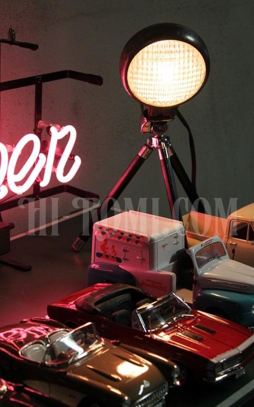 ベーツライト ヘッドライト ガラスレンズ ヴィンテージ アンティーク バイク アメ車 ランプ ライト リモデリング スタンドライト