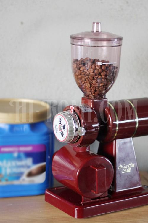 カリタ 電動コーヒーミル ナイスカットミル レッド