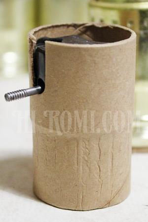 アメリカンソケット 絶縁体が紙筒になっています。 補修 修理 ランプ アンティーク Hi-Romi.com(ハイロミドットコム)関西 神戸