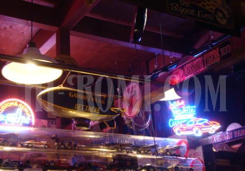 アメリカンダイナー カフェ キッチン サイン 照明 コルベット ベンツ アメ車 50's 60's ミッドセンチュリー