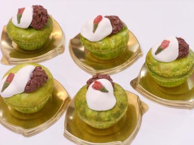 和風カップケーキ