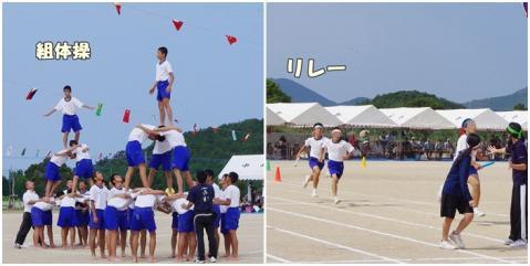 体育祭①②